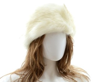 Other White Warm Chic Fur Winter Hat Headband Earmuff