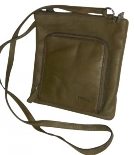 Item - Night On The Town Purse Green Leather Cross Body Bag