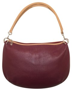 Maxx New York Leather Shoulder Hobo Bag