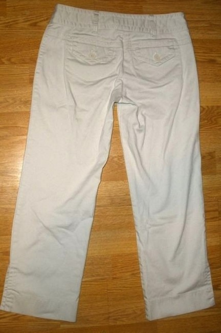 Ann Taylor Size 2 Capri/Cropped Pants LIGHT BEIGE, TAN
