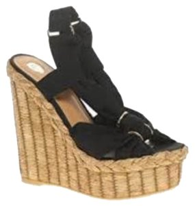 River Island Blac Wedges
