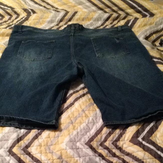 Pure Energy Denim Shorts-Distressed