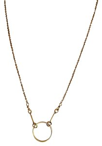 Dogeared Dogeared Gold Karma Necklace