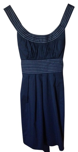 Trixxi short dress Navy on Tradesy