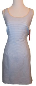 R&K Originals short dress Blue, White & Yellow Striped Cute Beach Nwt on Tradesy