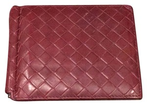 Bottega Veneta Men's Nero Mist Intrecciato Wallet