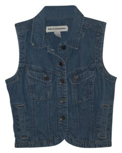 French Connection Denim Vest