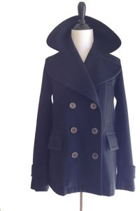 Burberry Pea Wool Cashmere Pea Coat