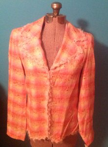 Doncaster Jacket Silk Blend Cotton Multi Blazer