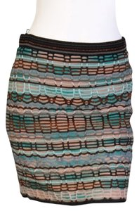 M Missoni Mini Skirt Multi-colored