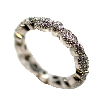 Pave Lady's Diamond Pave Eternity Band