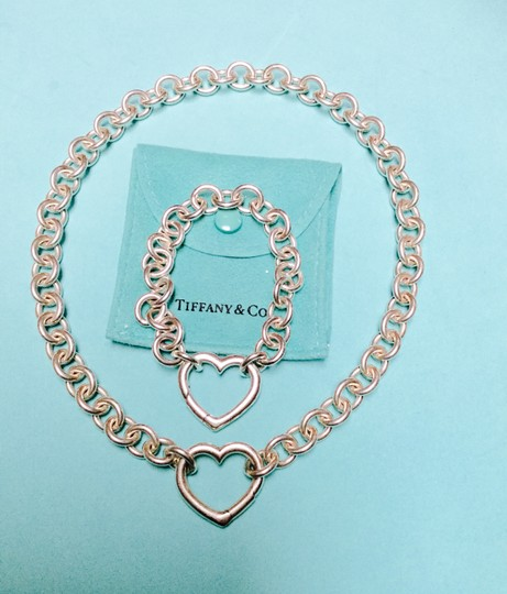 Tiffany And Company Toggle Necklace: Tiffany & Co. Co Open Heart Clasp Toggle And Bracelet