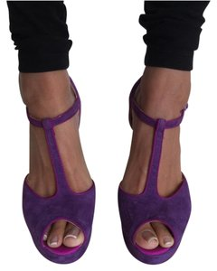 ALDO Purple magenta pink Platforms
