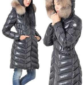 Moncler Bellette Fur Down Puffy Coat