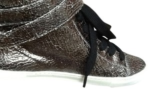 SCHUTZ Silver Crackle Athletic