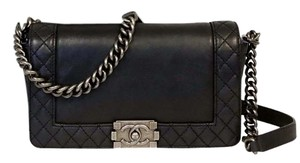 Chanel Cambon Jumbo Woc Le Boy Cross Body Bag