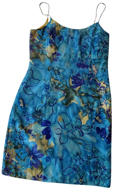 Preload https://img-static.tradesy.com/item/1014293/flores-and-flores-blue-gold-green-purple-above-knee-cocktail-dress-size-6-s-0-0-650-650.jpg