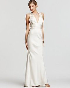 Nicole Miller Bridal Silk Double Face X-back Satin Gown Dg0021 Destination Wedding Dress Size 16 (XL, Plus 0x)