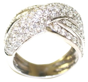 Mr & Mrs Italy Italian Diamond Pave Ring