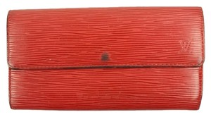 Louis Vuitton Red Sarah Wallet LVTL13