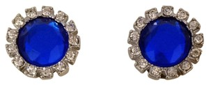 m. Haskell Clip on Blue Earrings