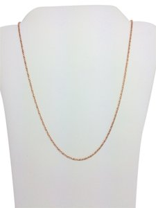 Other 14K Rose Gold Twisted Box Chain 16