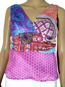 Alice & Trixie & & Silk Silk Silk & Silk Blouse Silk Blouse Blouse Silk Cami Extra Small X Small X Small Silk Extra Top Multi Colored Multi Pattern