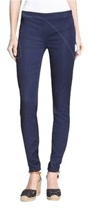 Tory Burch Navy Leggings