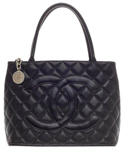 Chanel Leather Black Tote
