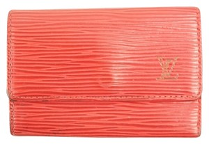Louis Vuitton Red Epi 6-Key Holder LVTL35