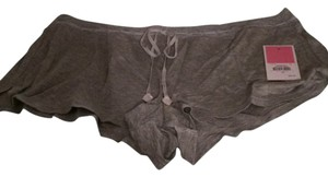 Juicy Couture New With Tags Mini/Short Shorts Gray