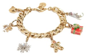 Juicy Couture BRAND NEW! JUICY COUTURE LIMITED CHRISTMAS CHARM BRACELET + 6 CHARMS