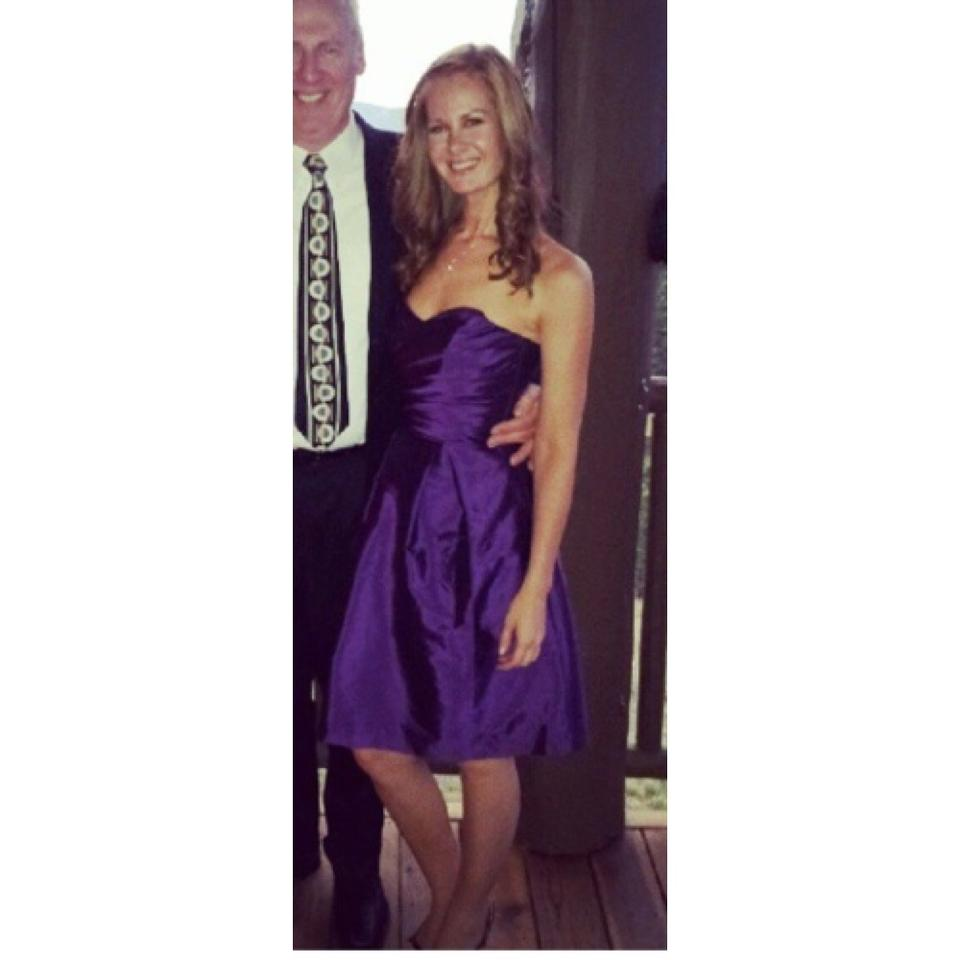 Alfred Sung Italian Plum Traditional Bridesmaid/Mob Dress Size 2 (XS ...