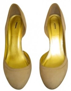 J.Crew Off-white Soft-suede Leather Heels Cream Pumps