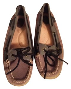 Sperry Black and gray Flats