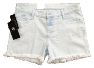Rock & Republic Cut Off Shorts Light blue
