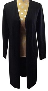 DKNY 100% Merino Wool Sweater Duster Cardigan