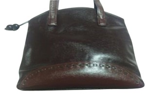 Louis Feraud Numbered Leather Vintage Shoulder Bag