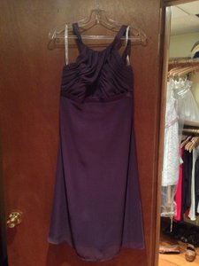 Jordan Fashions Plum A741tt Dress