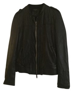 AllSaints Men's Leather Jacket