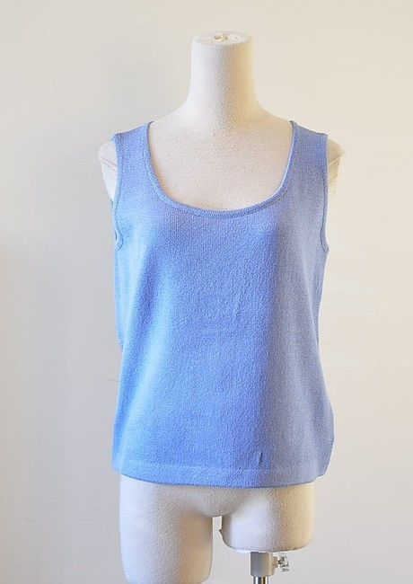 Preload https://item1.tradesy.com/images/st-john-blue-knit-pull-over-tunic-size-8-m-10147315-0-4.jpg?width=400&height=650