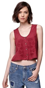 Roxy Top Maroon