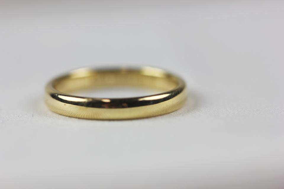 Tiffany co yellow gold 3mm lucida size 7 womens wedding band tiffany co yellow gold 3mm lucida size 7 womens wedding band tradesy junglespirit Gallery