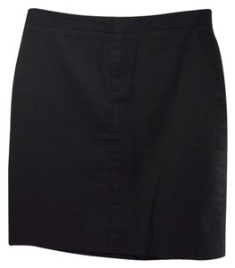 Gap Khaki Uniform Casual Mini Skirt Black