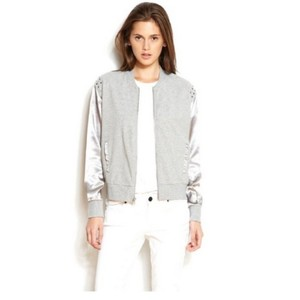 A|X Armani Exchange Bomber silver Jacket