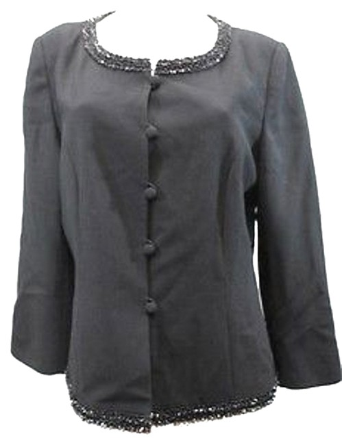 Other Embellished Cocktail Jacket BLACK Blazer