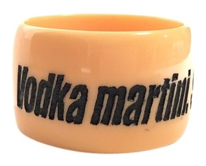 Jessica Kagan Cushman Jessica Kagan Cushman JKC Nantucket Bangle Vodka Martini Shaken Not Stirred Cuff Bracelet