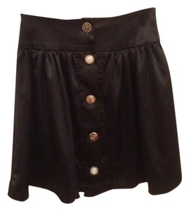 James Perse Mini Skirt BLACK