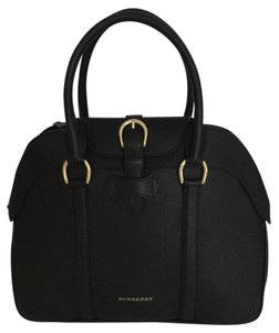 Burberry Bowling Satchel in Black