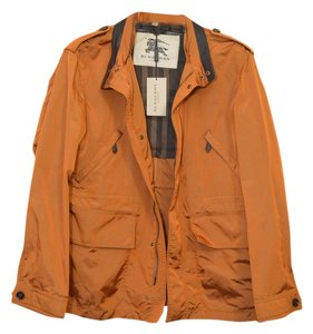 Burberry London Burberry Mens Mens Mens Coat Waterproof Burberry Coat ORANGE OCHRE Jacket